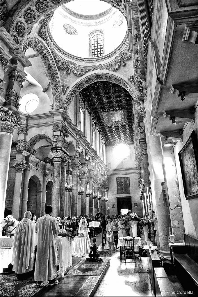 Italian church for catholic wedding
