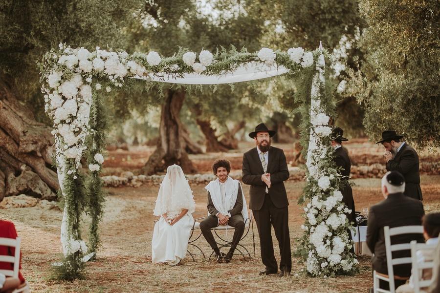 Mariage juif dans les Pouilles