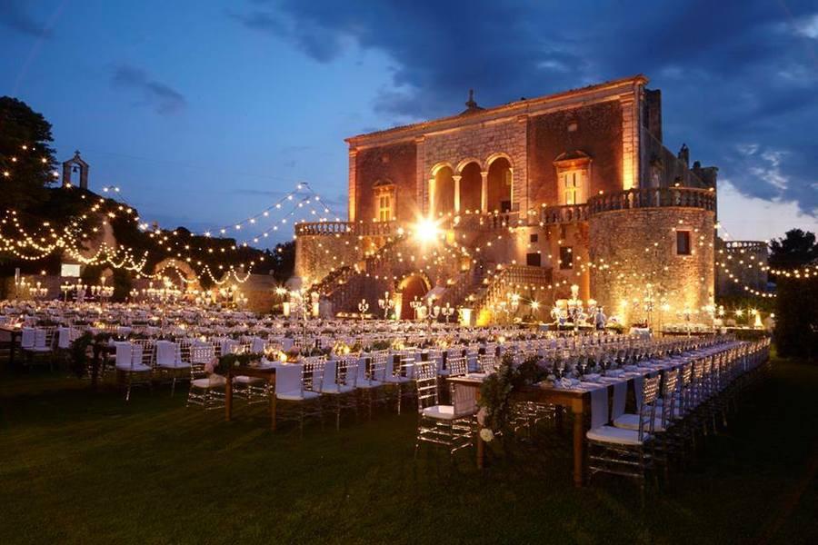 se marier dans un château italien
