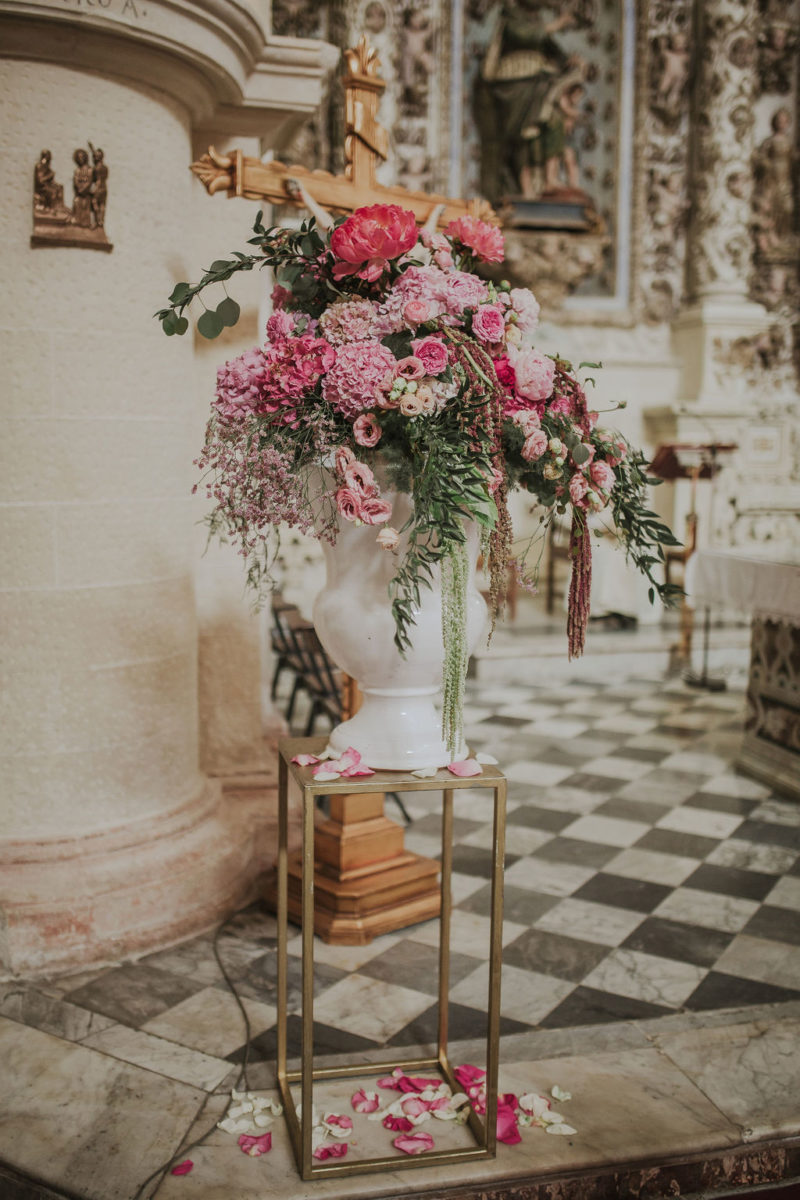 déco de mariage noces italiennes
