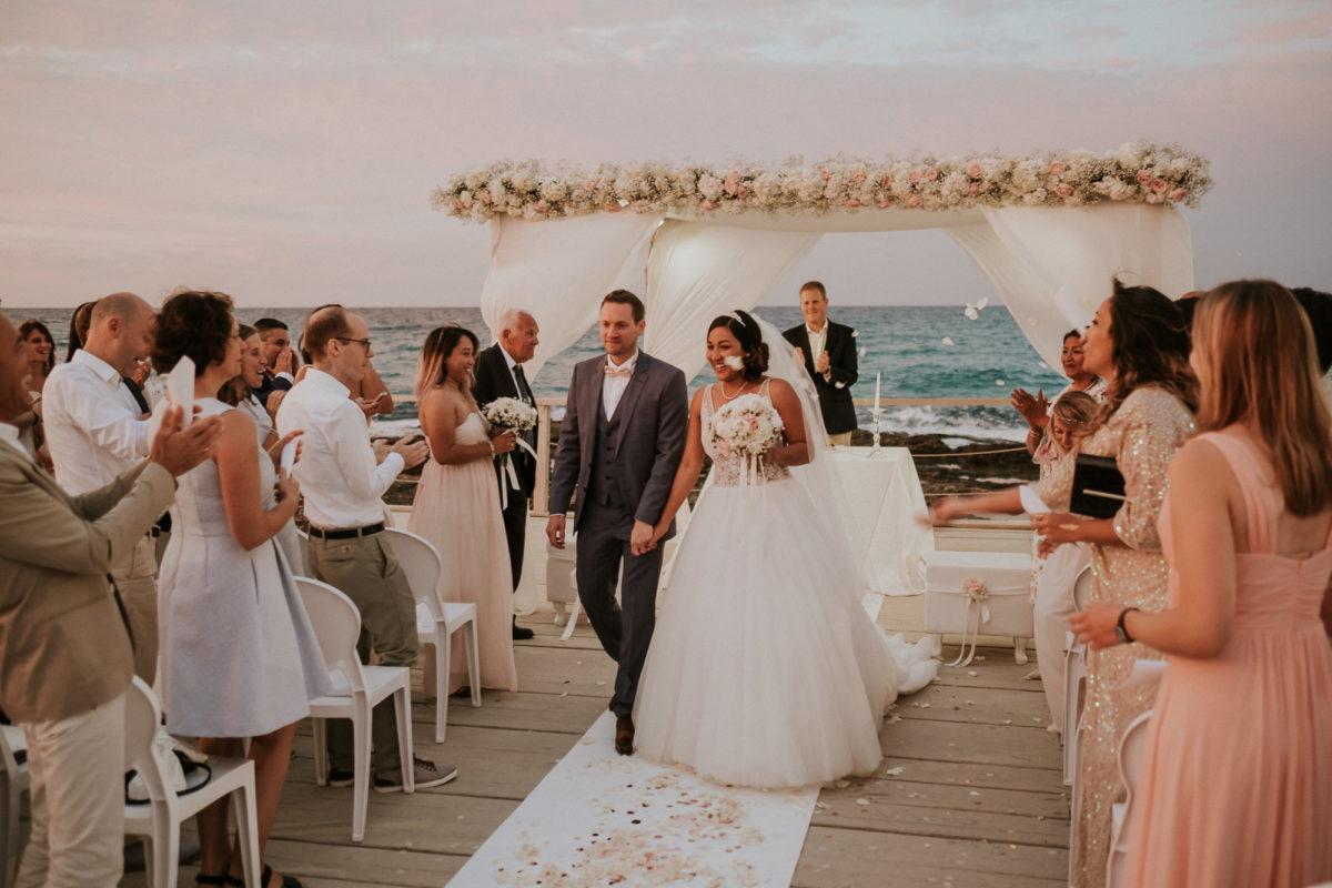 mariage coucher de soleil pouilles noces italiennes 1