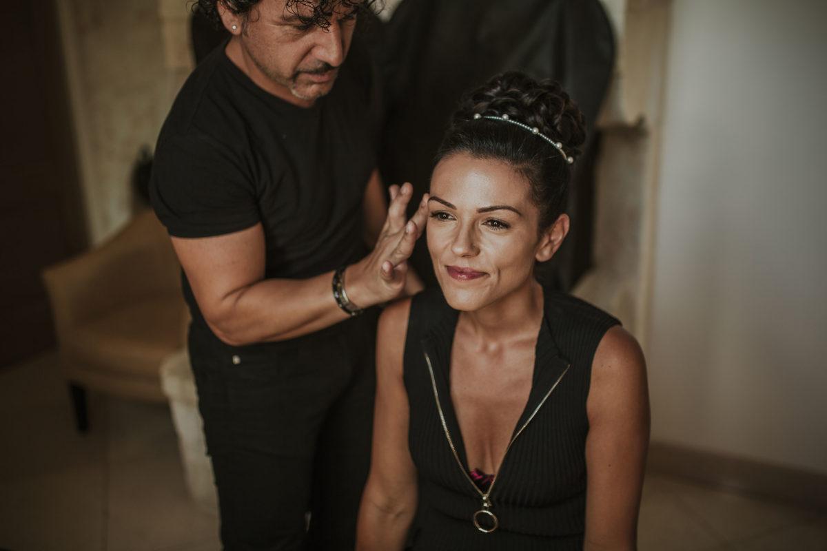 Maquillage mariée noces italiennes 7