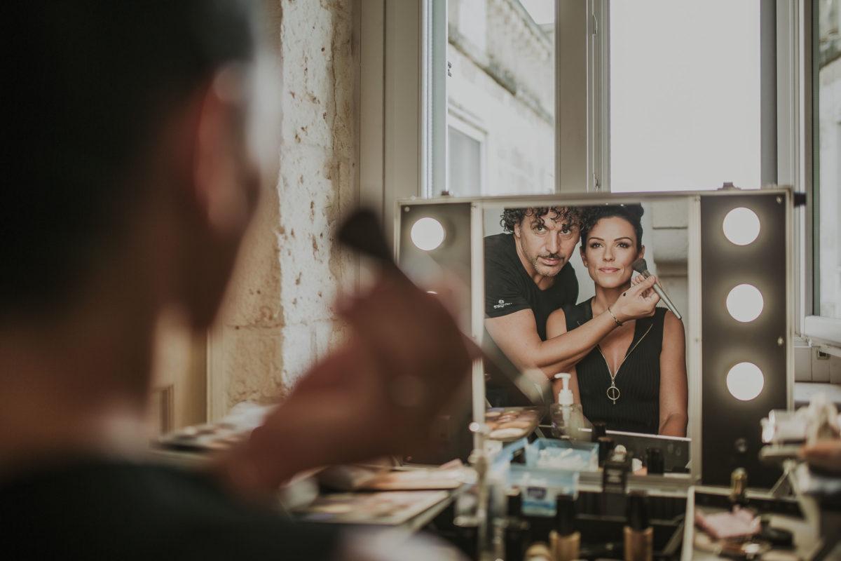 Maquillage de mariée noces italiennes