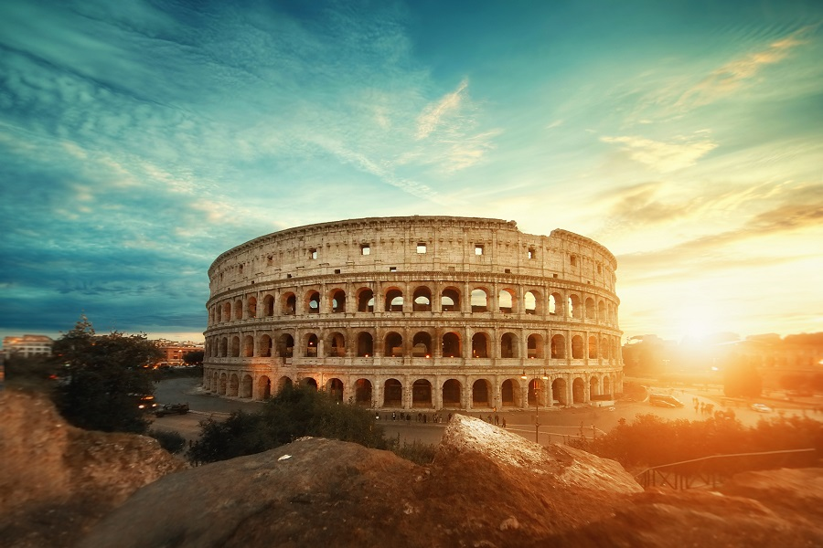 mariage en italie colisée