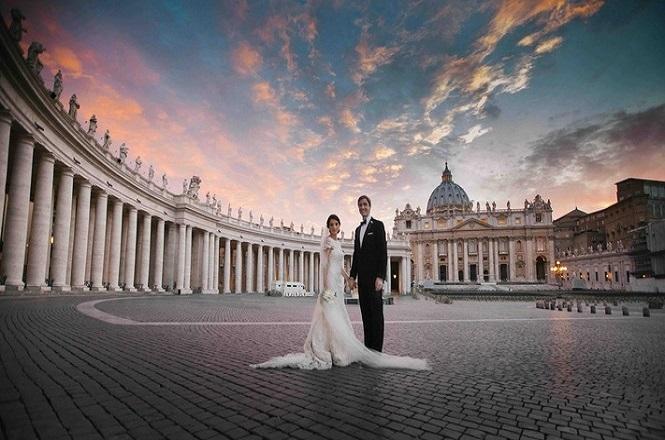 mariage rome