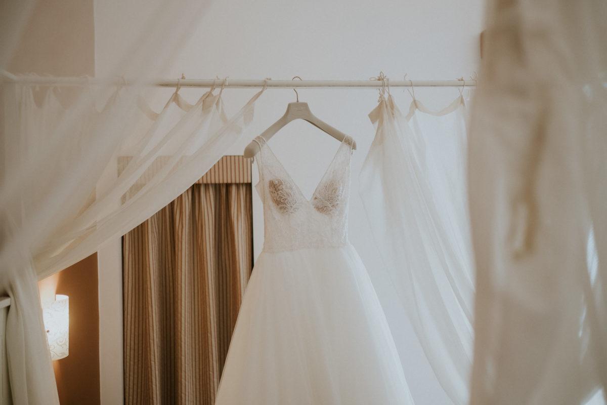robe de mariée Italie