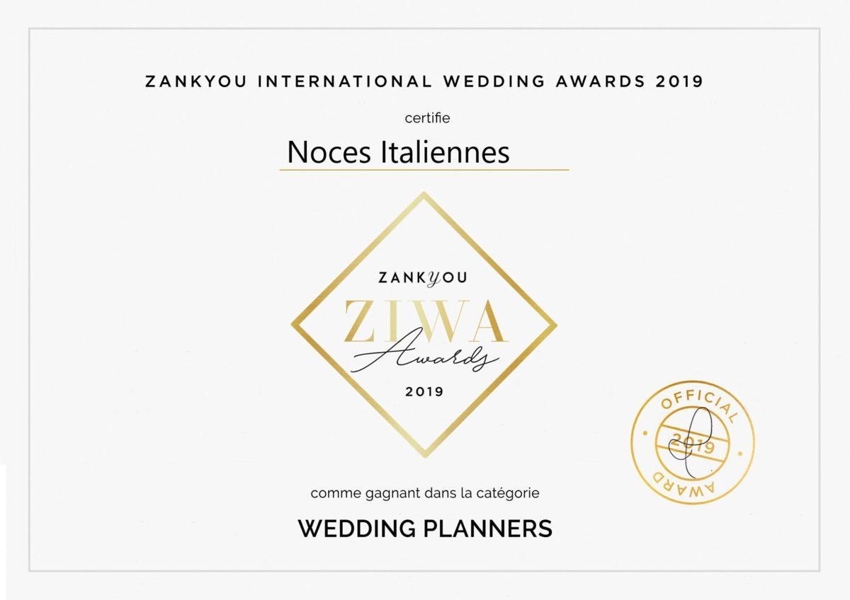 Wedding-Planners_Diplôme personnalisé