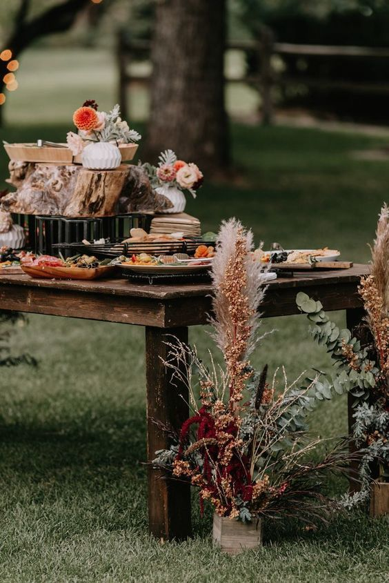 Fleurs mariage country 1