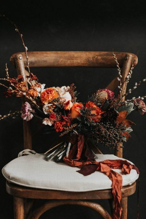 Fleurs mariage country 3