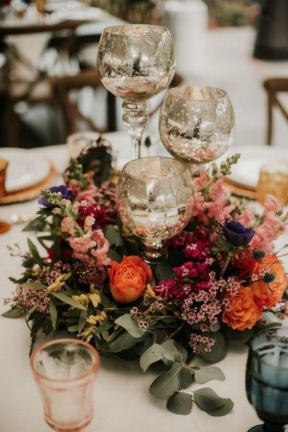 Fleurs mariage country
