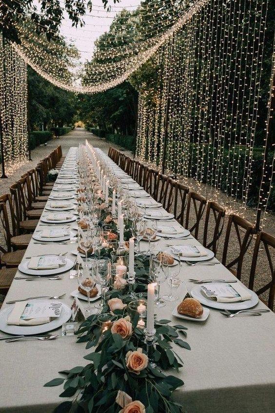Table mariage rustique 1
