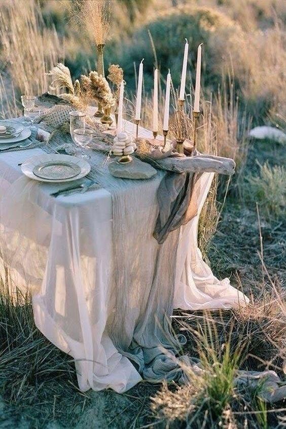 Table mariage rustique 2