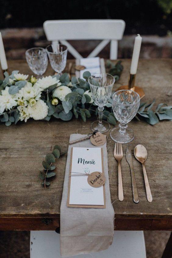 Table mariage rustique 4
