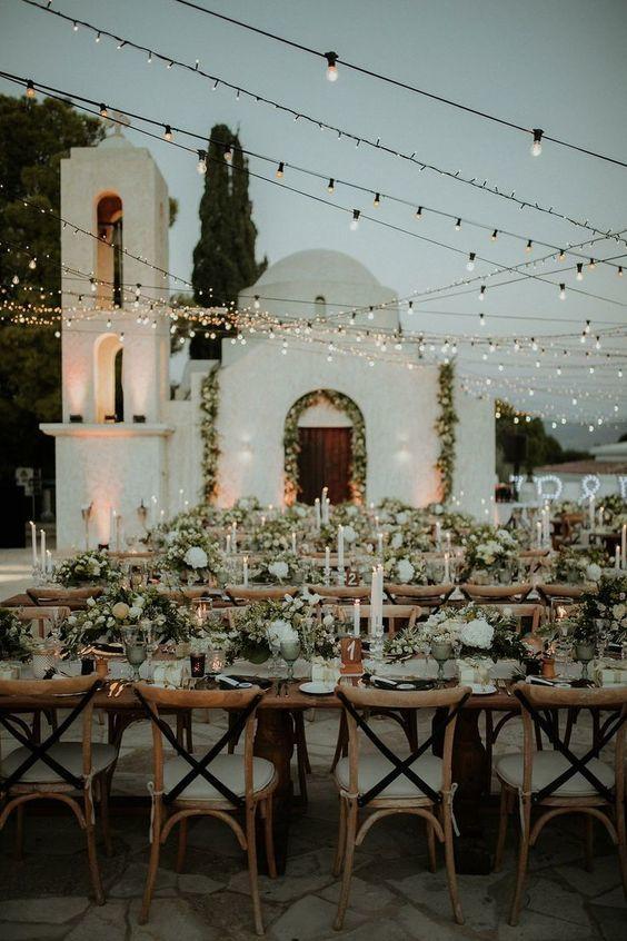 Table mariage rustique 7