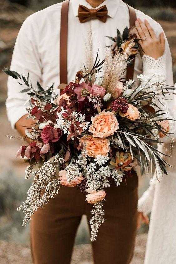 bouquet de mariage country