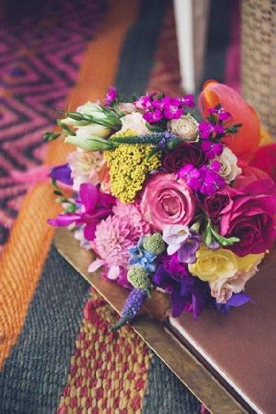bouquet mariage oriental