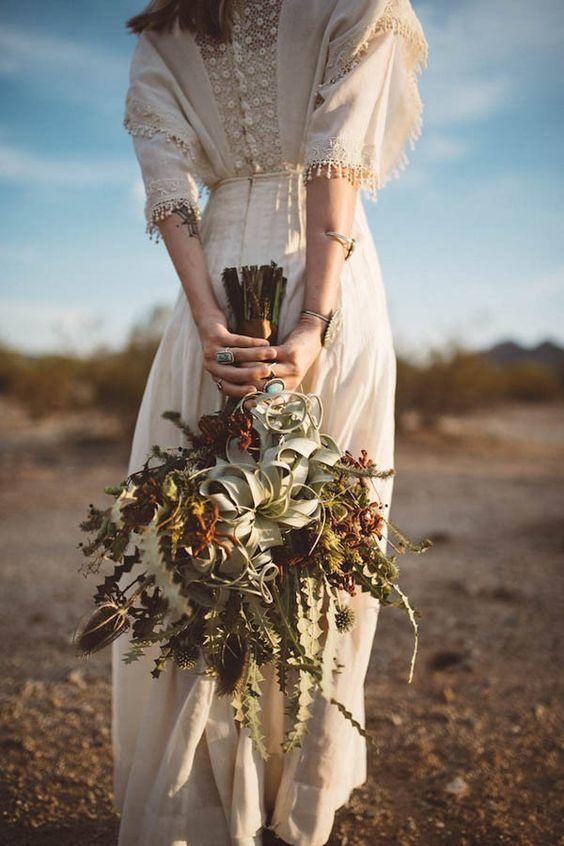 bouquet mariage rustique