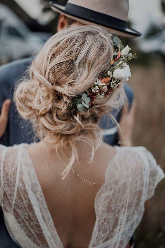 coiffure mariage boheme