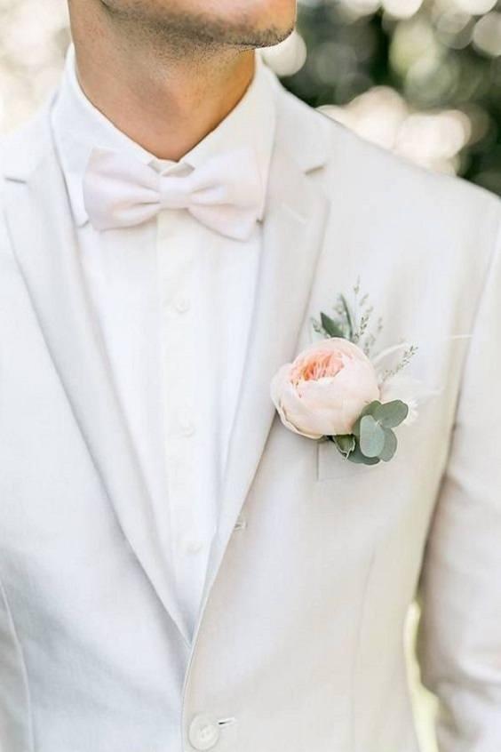 costume mariage blanc