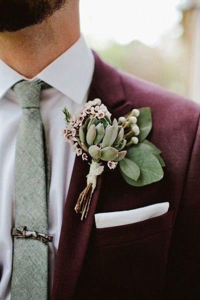 costume mariage violet