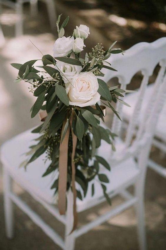 déco chaise mariage italien