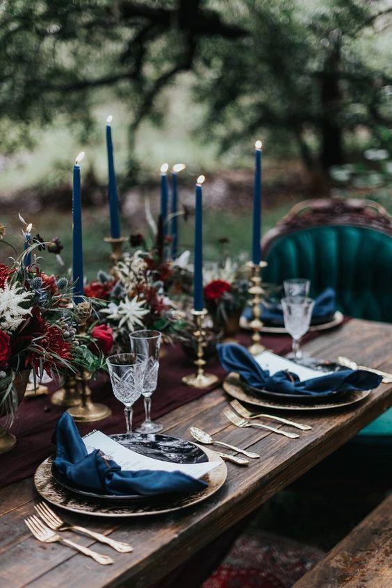 déco table mariage noel 2