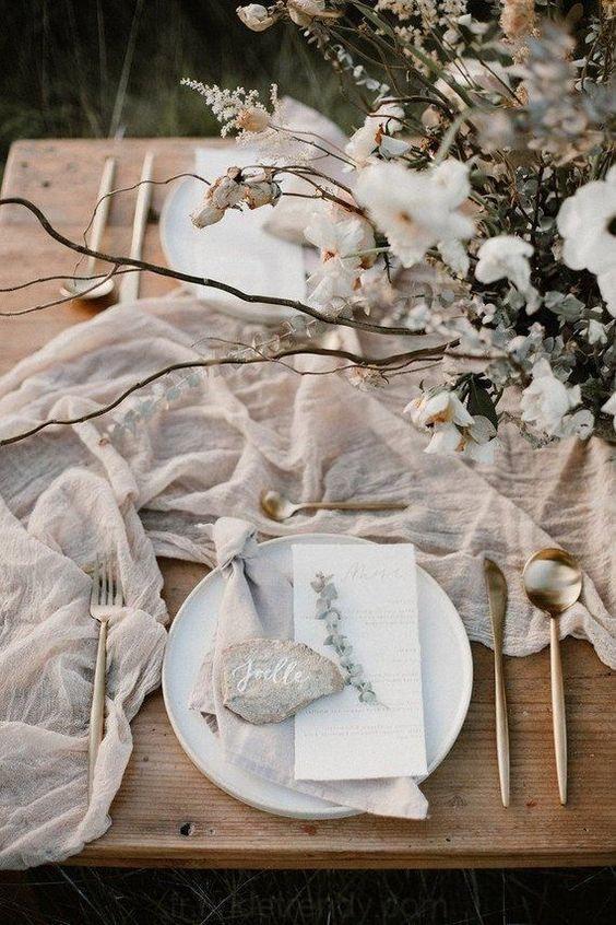 fleurs déco mariage rustique