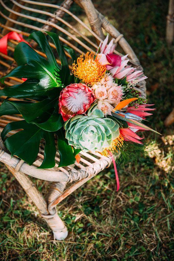 fleursmariage exotique