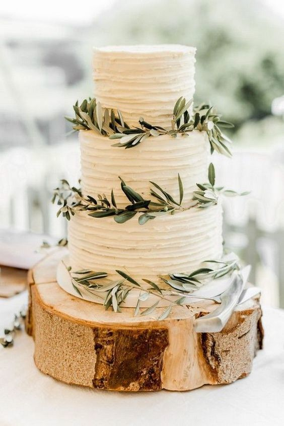 gateau de mariage olivier