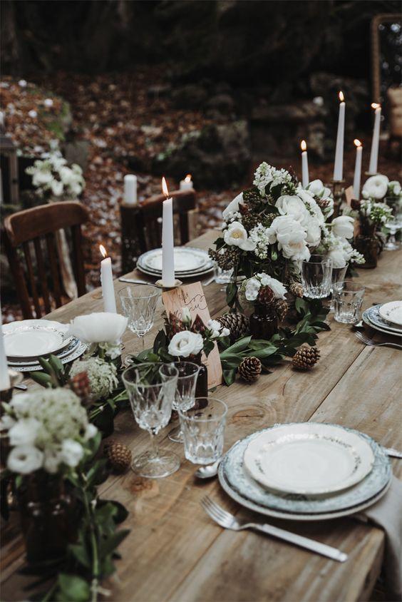 table de mariage noel