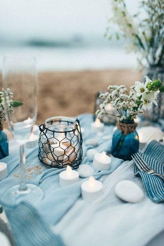 table mariage bords de mer 5