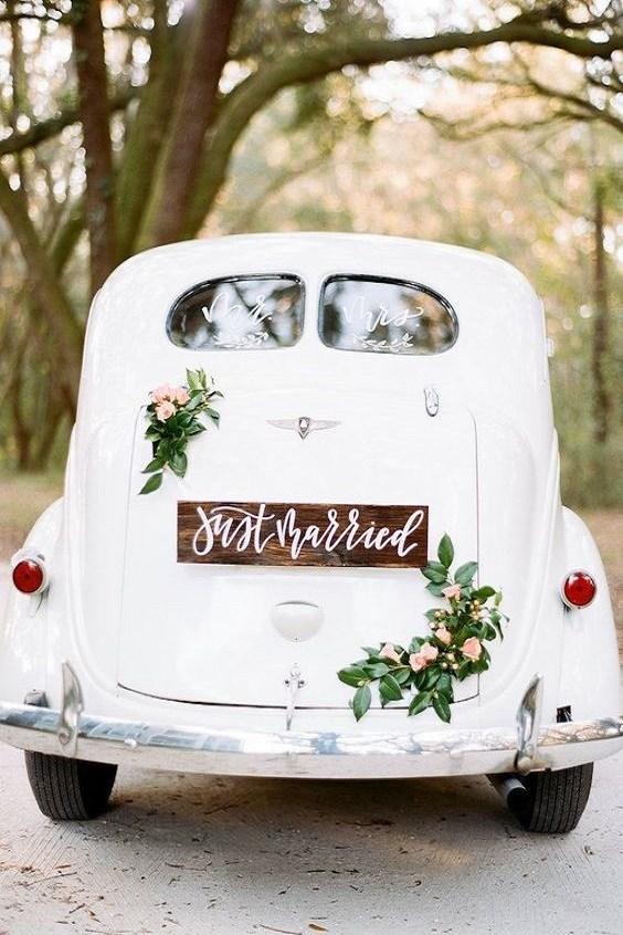 voiture mariage blanche