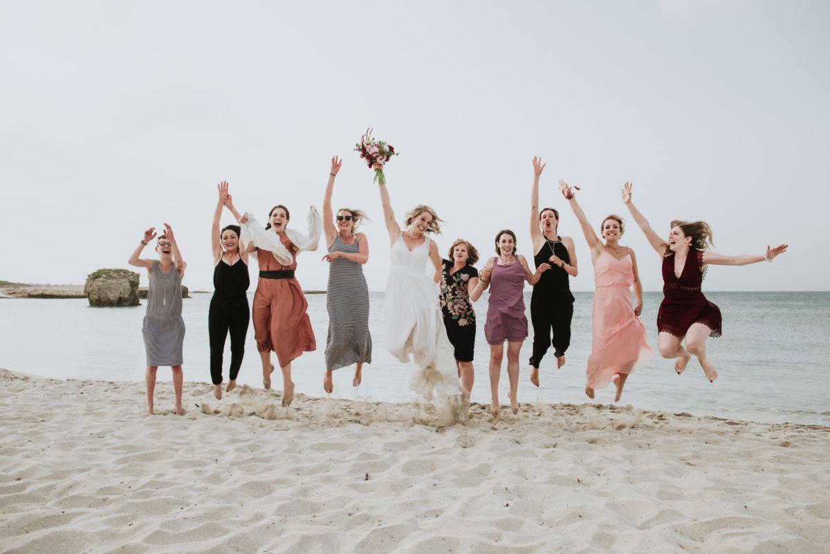 Mariage plage Italie