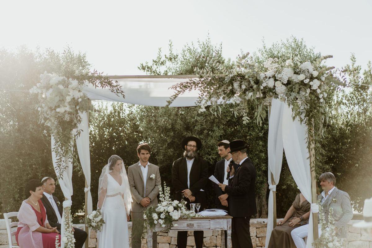 Mariage juif en Italie