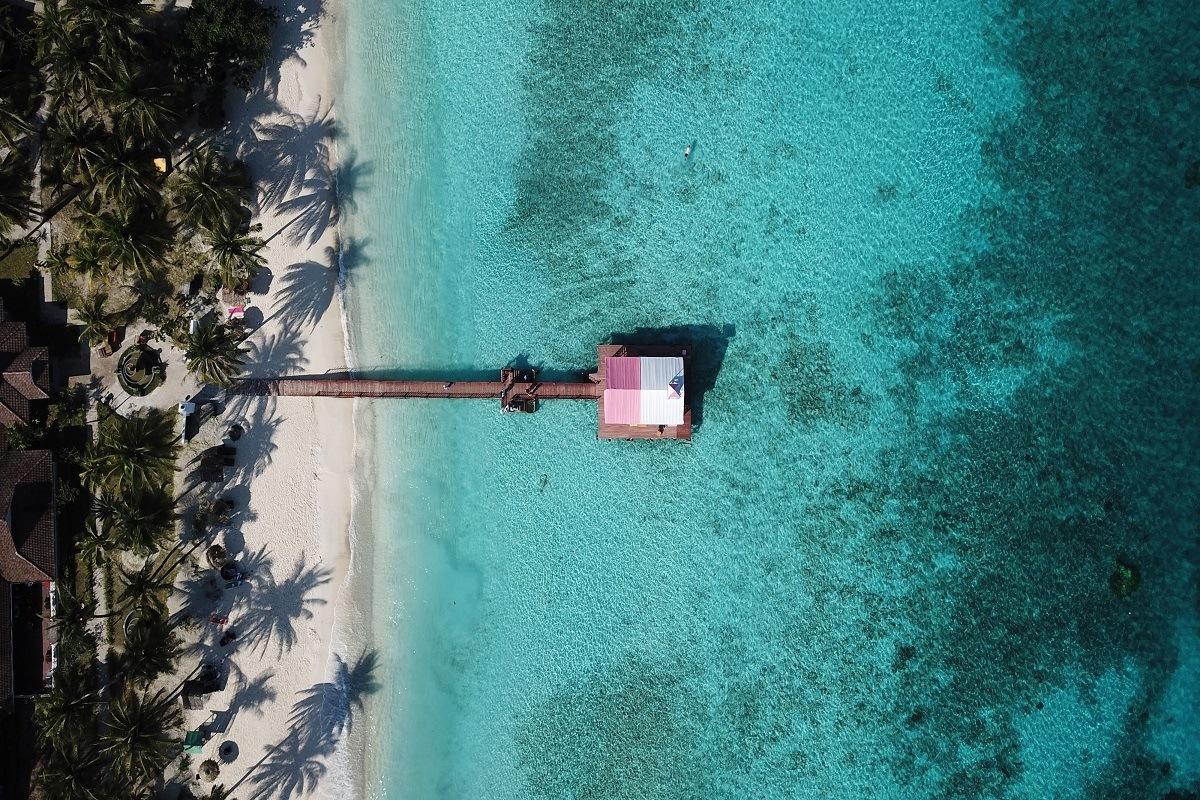 mariage sur une île