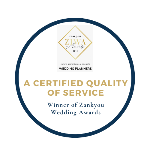 Quality certified for wedding