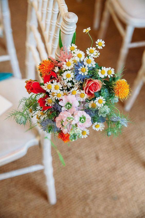 Bouquet de mariage liberty