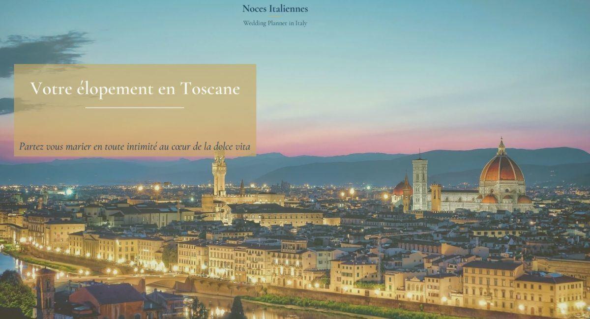 votre élopement en Toscane