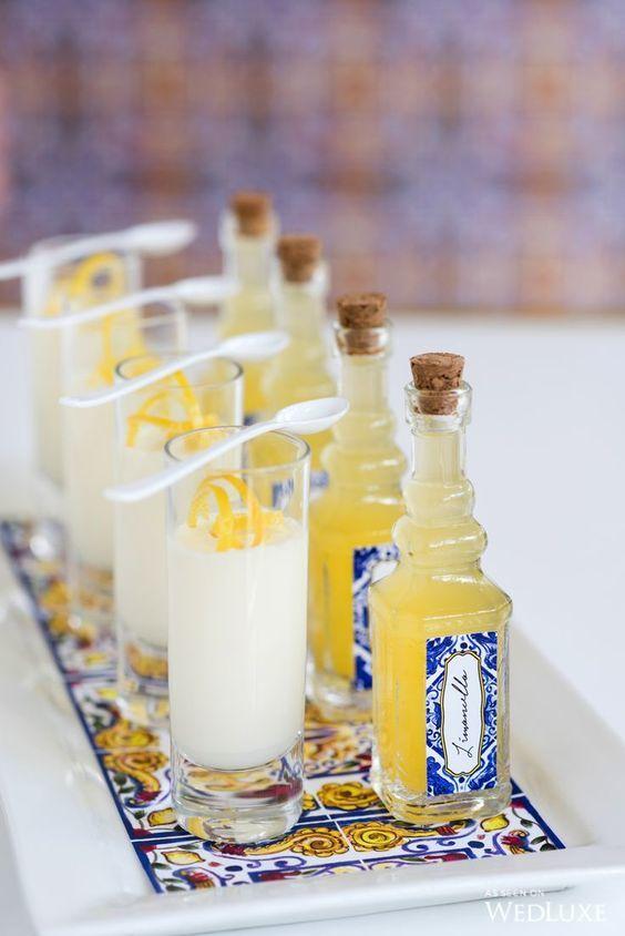 bbouteilles limoncello italien