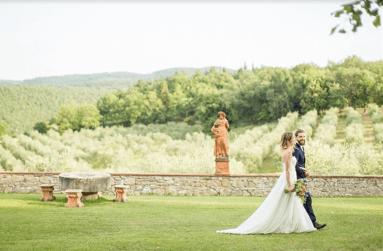 Se marier en Toscane