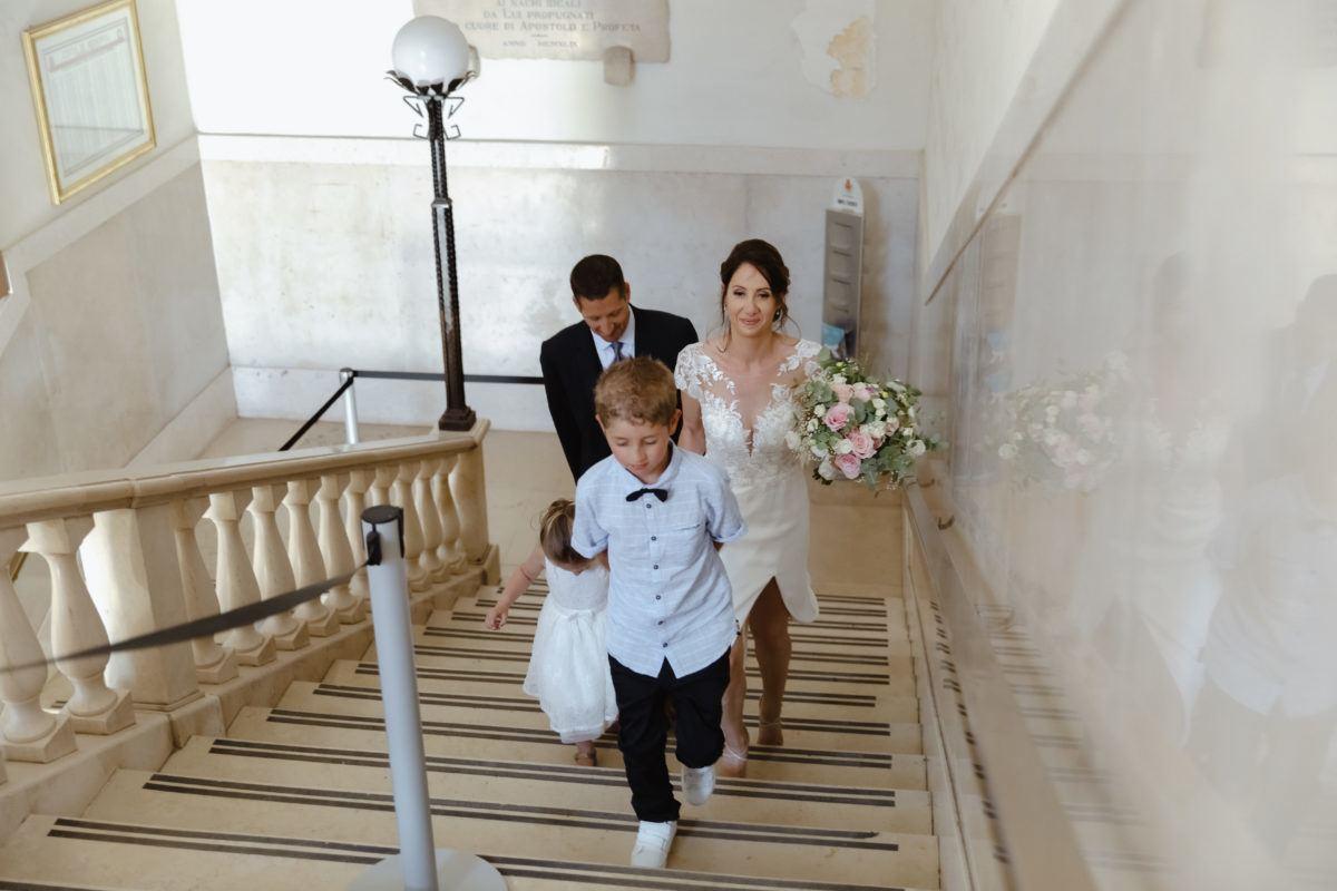 arrivée mairie mariage civil