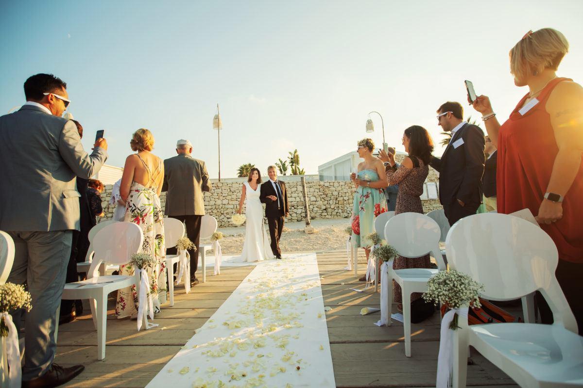 Se marier sur la plage Corse