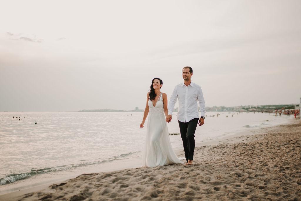 mariage sur la plage italie