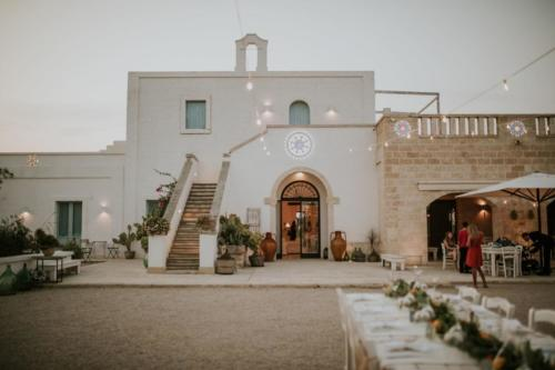 Mariage masseria en Italie